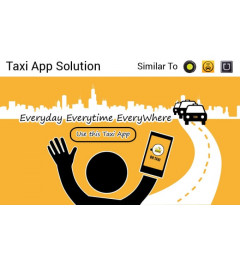 SImilar to Uber, Ola, Lyft, Easy Taxi, Grab, Hailo