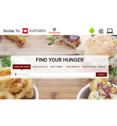 Similar to Zomato, Foodpanda