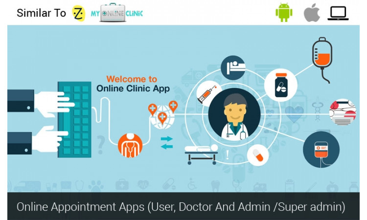 SImilar to Zocdoc, Practo, Doctor Appointment Booking
